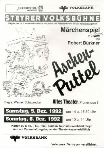 Aschenputtel_1992_Plakat