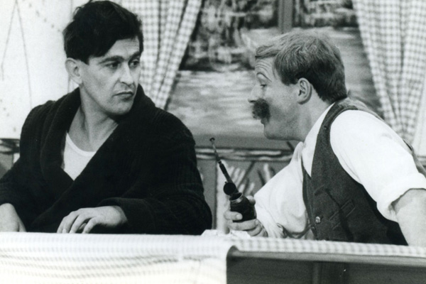 Armin Hinterlechner (links im Bild) 1968