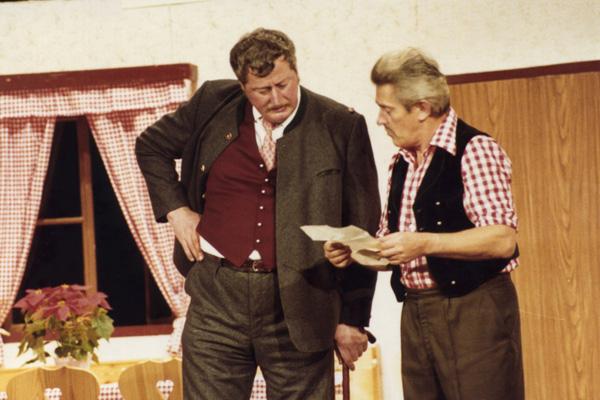 Werner Schaurecker und Armin Hinterlechner